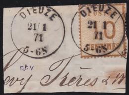 Alsace .   Yvert   .     5      .       O         .       Oblitéré - Alsazia-Lorena