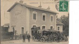 58 . Nièvre  :  Vandenesse : Vue Exterieure De La Gare . - France