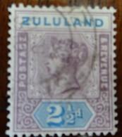 #219# ZULULAND YVERT 16 USED. - Zululand (1888-1902)