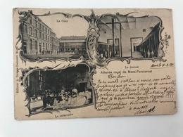 Carte Postale Ancienne (1901)  MONS Athénée Royal De Mons - Pensionnat - Mons