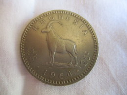 Rhodesia: 25 Cents 1964 - Rhodésie