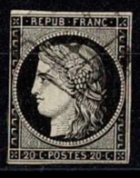 France Ceres 1849 YT N°3 - Obl. Losange - 1849-1850 Cérès