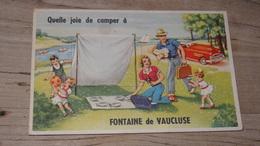 Carte A Systeme De FONTAINE DE VAUCLUSE ……….3839 - Frankreich