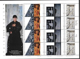 ..HOMMAGE à LOUISE NEVELSON   SCULPTEUR   1899-1988 - Blocks & Kleinbögen