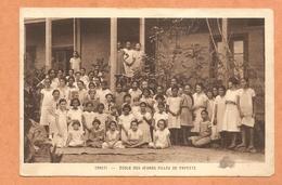 TAHITI -- ECOLE DES JEUNES FILLES DE PAPEETE - Tahiti