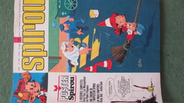 Magazine SPIROU N°1774. Année 1972 - Spirou Magazine