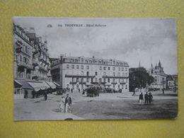TROUVILLE SUR MER. L'Hôtel Bellevue. - Trouville