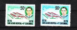 Filippine  Philippines  - 1978. San Lazaro Hospital. Complete MNH Series. - Medicina