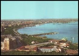 AZERBAIJAN, BAKU. PANORAMA OF CITY, Aerial View (MORFLOT Intourist Edition, USSR, 1970's). Unused Postcard - Azerbaïjan