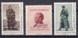 Yugoslavia Republic 1952 Mi#693-695 Mint Hinged - 1945-1992 Socialistische Federale Republiek Joegoslavië