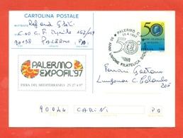 INTERI POSTALI- C 233 - - ANNULLO PALERMO 27/4/1997 - Interi Postali