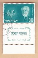 ISRAELE 1954 Barone Rothschild.usato. - Israele