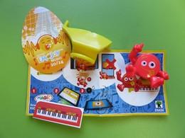 090 - Kinder - Emojoy Music - Série Bleu - Emoji Clavier - EN434 + BPZ - 2019 - Montables