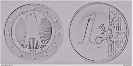 MONNAIE 1 Euro  2002 F  Euro Fautée Error Acier Etat Superbe - Abarten Und Kuriositäten