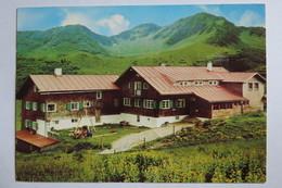 """(11/2/98) Postkarte/AK """"Schwarzwasserhütte"""" Mit Ochsenhofer Scharte Und Grünhorn Im Kleinwalsertal - Kleinwalsertal"""