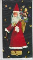 Carte  RARE - Les Poupées De PEYNET - Carte Double ( Fermée 21 / 11 Cm ) - Père Noël - Hotte (sous Blister ) - Peynet