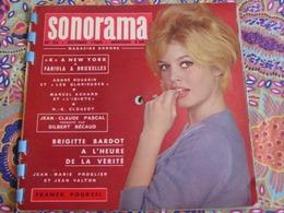 """Album SONORAMA 23-Oct 1960: B.Bardot ,musique Du Film """"La Vérité """",J.C.Pascal ,Bécaud .. - Spezialformate"""