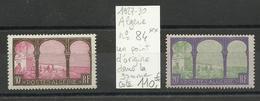 Algérie N° 84-85 Neufs ** MNH Cote YT 121€50 Voir Description - Nuevos
