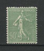 FRANCE 1924  N° 198a ** Neuf MNH Superbe  C  15,50 € Type Semeuse Lignée Vert - Unused Stamps