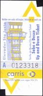 Ascenseur / Elevator, Ticket - Elevador Santa Justa, Lisboa / Carris - Billetes De Transporte
