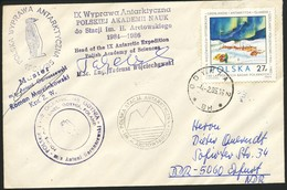 Schiffpost - Polnische Antarktis - Polare Shiffe & Eisbrecher