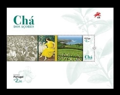 Portugal (Azores) 2019 Mih. 642 (Bl.69) Tea From Azores MNH ** - Azores