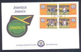Jamaica 2004 Cover: Football Fussball Soccer Calcio; Jamaica Football Federation - Fussball