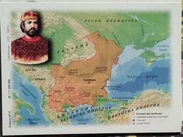Bulgaria - Map Of Bulgaria - Period 1197 - 1207 Years - Landkarten