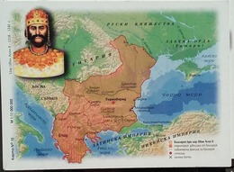 Bulgaria - Map Of Bulgaria - Period 1218 - 1241 Years - Landkarten
