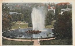 ***  ROUMANIA    ***  SINAIA  Vedere Din Parc  A Muntilor Bucegi - TTB - Roumanie