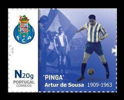 Portugal 2019 Mih. 4529 Football Player Pinga MNH ** - 1910-... Republic