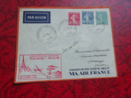 FRANCE (1938) Vol PARIS NICE - France