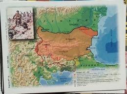 Bulgaria - Map Of Bulgaria - Period 1912 - 1940 Years - Landkarten