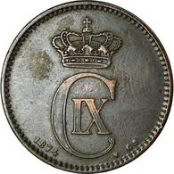 Monnaie, Danemark, Christian IX, 5 Öre, 1874, Copenhagen, TTB+, Bronze - Denmark