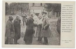 Cambrai M. Clémenceau Et Général Haig Félicitent M. L' Abbé Thuliez, Curé De Saint-Druon Oscar Masson, éditeur Cambrai - Cambrai