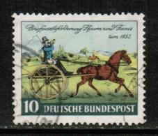 GERMANY  Mi # 160---Scott # 692---Ivert # 47 VF USED  (Stamp Scan # 529) - [7] Federal Republic