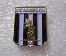 U.S. Sansepolcro Calcio Distintivi FootBall Soccer Spilla Pins Arezzo Toscana Italy - Calcio