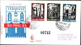 13244a)F.D.C.SAN Marino  Mostra Filatelica Di Bologna - 25 Novembre 1961 - FDC
