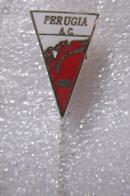 A.C. Perugia Calcio Distintivi FootBall Soccer Spilla Pins Umbria Italy - Calcio