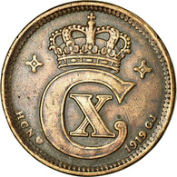Monnaie, Danemark, Christian X, 5 Öre, 1919, Copenhagen, TTB, Bronze, KM:814.2 - Danemark