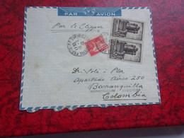 FRANCE (1940) Lettre Pour La Colombie Par Clipper - France