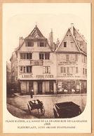 CPA Strasbourg, Kleber Place, A L'Angle De La Grande Rue, De La Grange, Disparu, Ungel. - Strasbourg