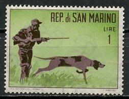 Saint Marin - San Marino 1962 Y&T N°562 - Michel N°739 *** - 1l Chasseur Et Son Chien - San Marino