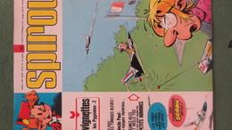 Magazine SPIROU N° 1811. Année 1972 - Spirou Magazine