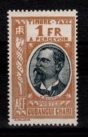 Oubangui - Taxe YV 20 N* (legere) - Ubangi (1915-1936)