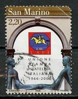 Saint Marin - San Marino 2006 Y&T N°2066 - Michel N°2271 (o) - 2,20l Union De La Presse Philatélique - Gebraucht