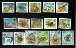 SEYCHELLES Zil Eloigne Sesel  Neuf Sans Charnière N° 1 à 16  N**  1ièrev Série 1980  Faune  Animaux - Seychelles (1976-...)