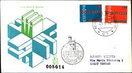 13250a)F.D.C.SAN Marino    Europa - 29 Maggio 1971 - FDC
