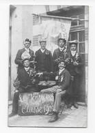41  CARTE PHOTO CONSCRITS DE SELLES Sur CHER  CLASSE 1909  BON ETAT 2 SCANS - Selles Sur Cher