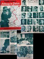 WW II Zeitschrift , Deutsche Infanterie , Feldzug In Polen ,Oktober 1939: 42 Seiten , Adolf Hitler , Deutsche Generäle - Covers & Documents